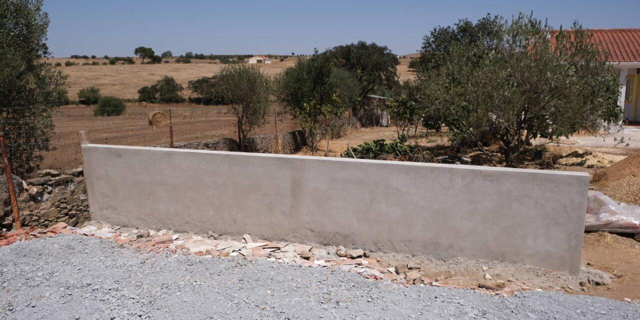 Projekt: Mur vid parkeringen