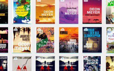 Lästa böcker sommaren 2021